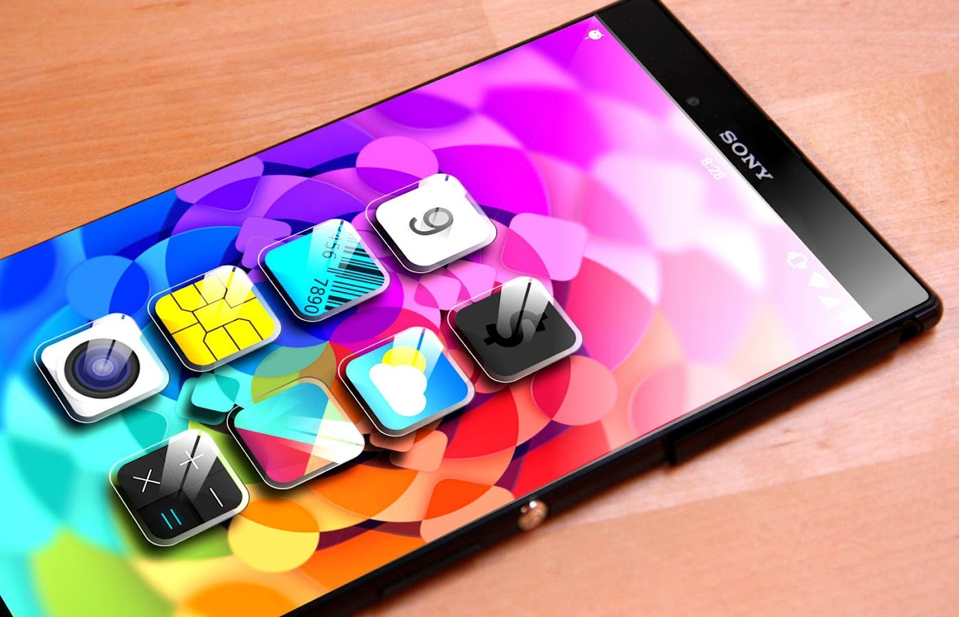 Crystal - icon pack Theme HD APK Cracked Free Download | Cracked