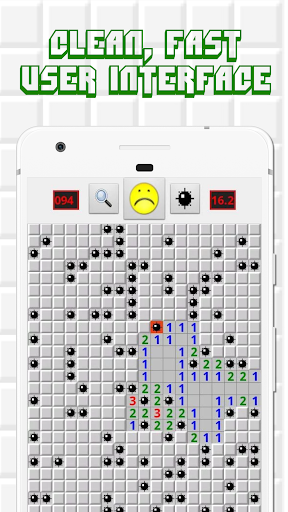 Minesweeper for Android - Free Mines Landmine Game 2.6.22 screenshots 5