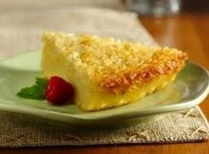 No-crust Coconut Pie Recipe