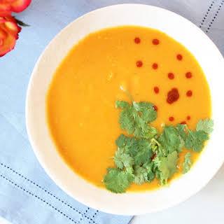 Thai Coconut Curry Squash Soup.