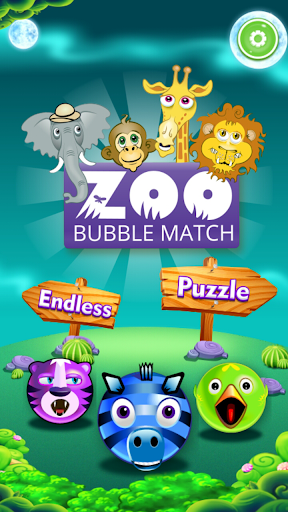 Zoo Bubble Match