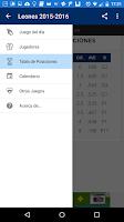Screenshot of Leones 2015-2016