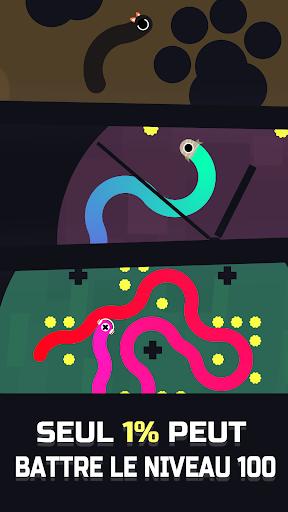 Serpent de gelée APK MOD – Monnaie Illimitées (Astuce) screenshots hack proof 1