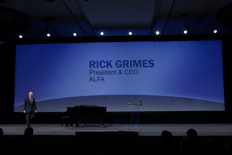 Photo: Rick Grimes, President & CEO, ALFA