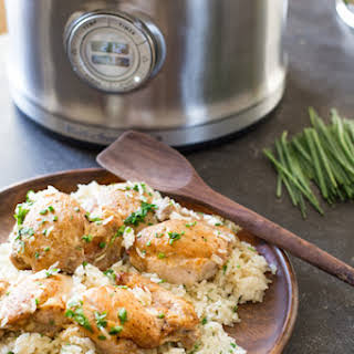 Creamy Herbed Chicken and Rice.