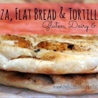 Gluten Free Pizza, Flat Bread and Tortilla Dough