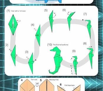 Papírové řemeslo Origami - náhled