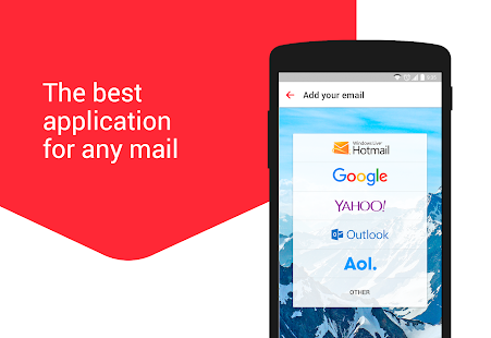 myMail: Email App for Gmail, Hotmail & AOL E-Mail Screenshot