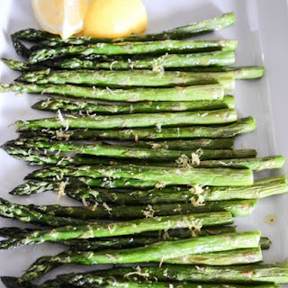 PERFECTLY ROASTED ASPARAGUS.
