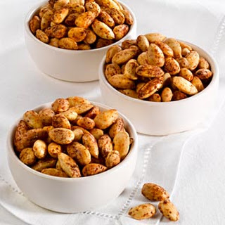 Spice Roasted Almonds Recipe