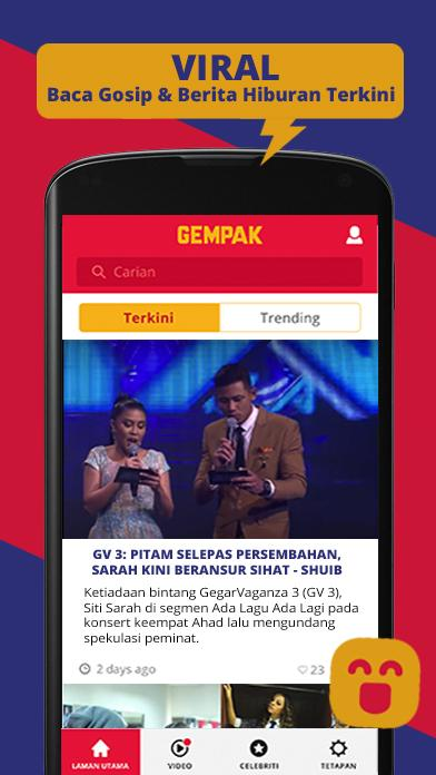 Gempak- screenshot