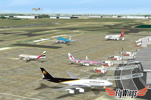Flight Simulator 2015 Flywings - Paris and France apkpoly screenshots 5