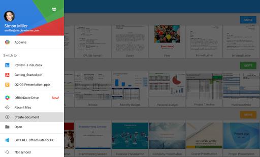 OfficeSuite Pro + PDF screenshot 15