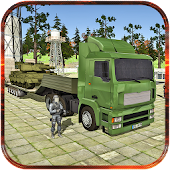 Army Truck Driver: Cargo 3D