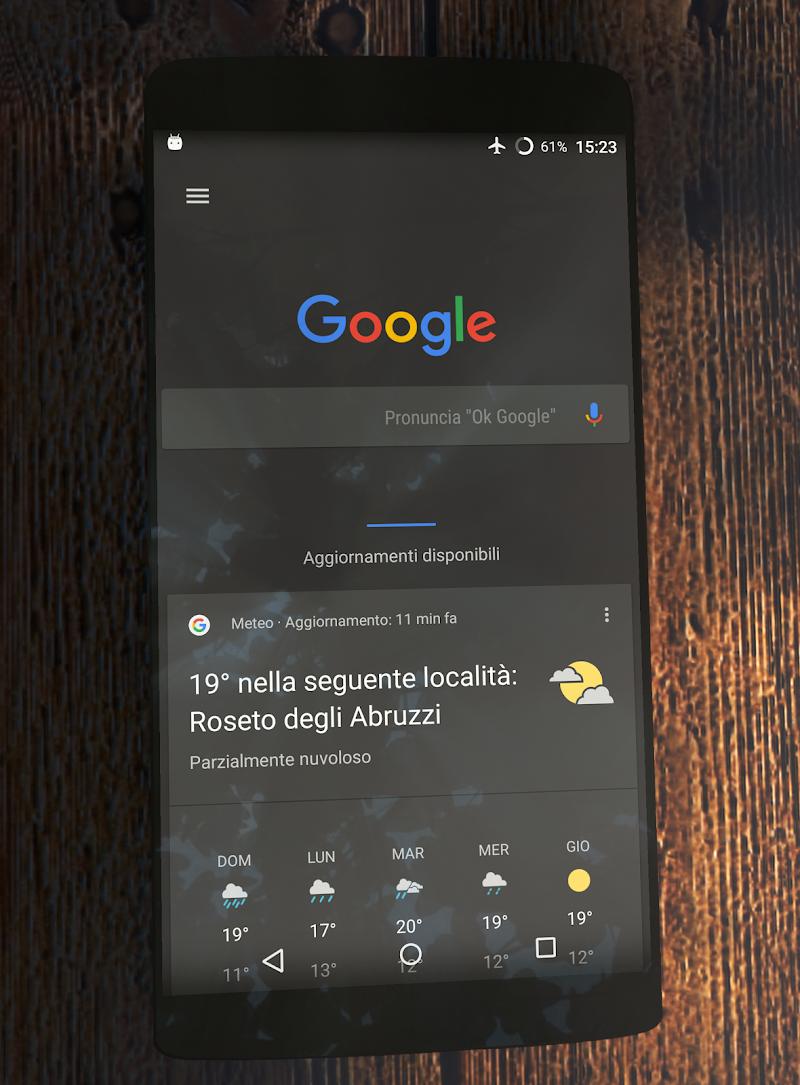 Substratum Dark Theme +Samsung,Oreo,Pixel [aospUI] Screenshot 3