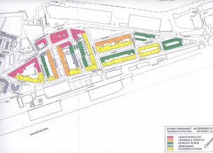 Photo: [vóór 2000 ©-Woningstichting Onze Woongemeenschap OWG en ©-verzameling KBO] - http://www.Katendrecht.info - schetsen & studies - etikettenkaart - overigens fuseerden OWG en Volkswoningen in 1999 tot De Nieuwe Unie dNU, terwijl De Nieuwe Unie en Woningbedrijf Rotterdam WBR in 2007 fuseerden tot Woonstad Rotterdam - Woonstad moet overigens niet verward worden met Woonbron, o.a. bekend van de aanschaf en verbouwing van het stoomschip ss Rotterdam.