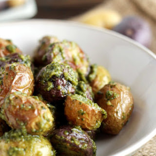 Easy Pesto Potatoes