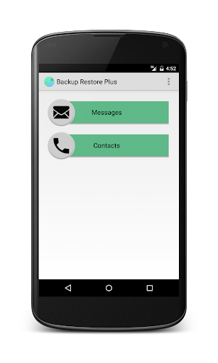 SMS Backup restore +contacts