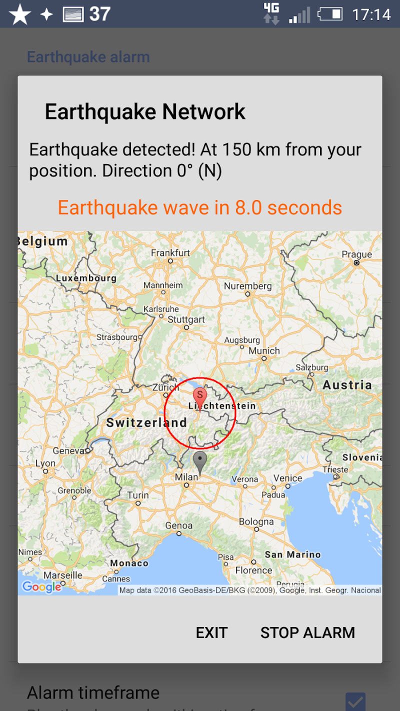 🚨 Earthquake Network Pro - Realtime alerts Screenshot