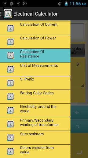 Electrical Calculator Plus