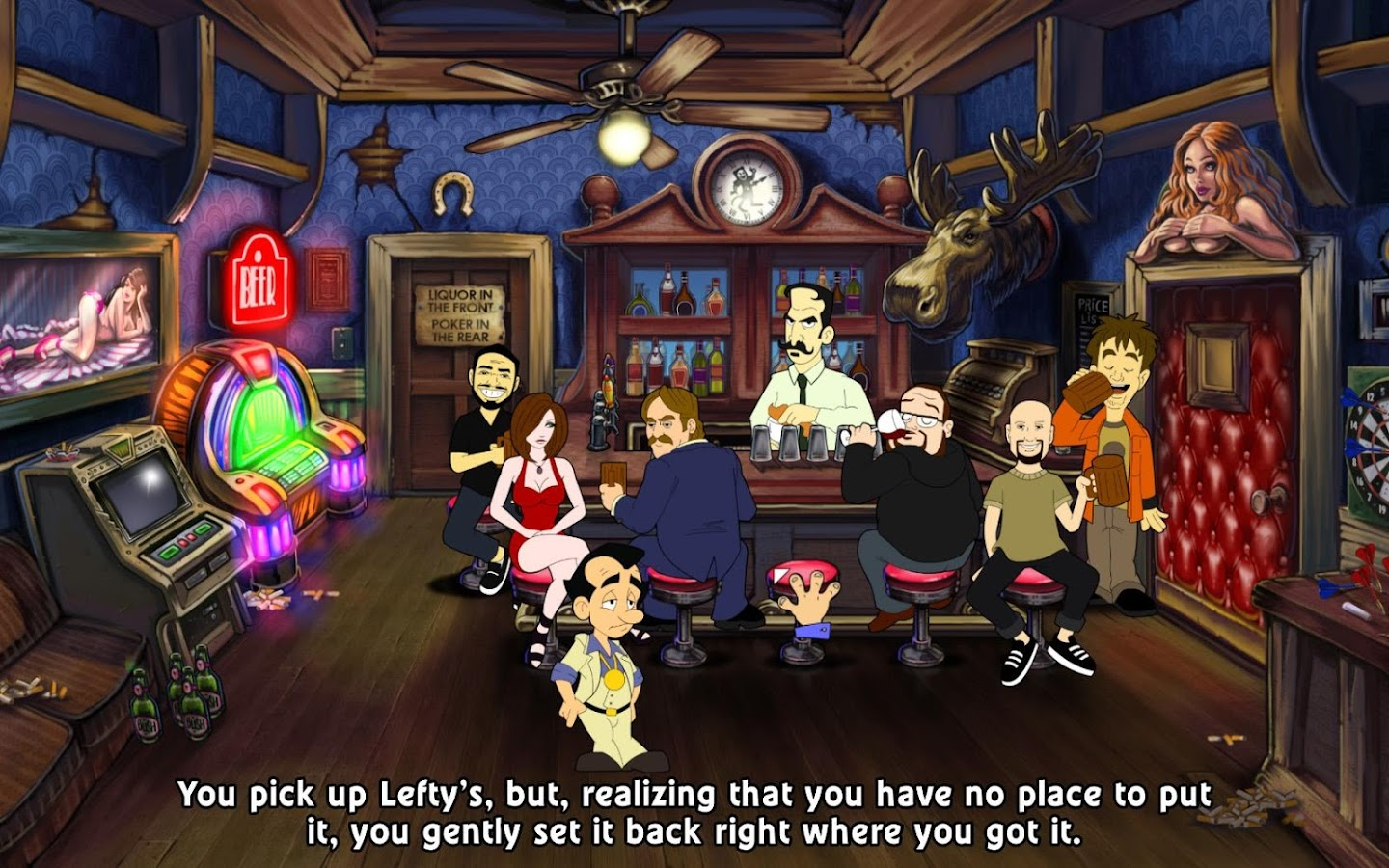 Leisure Suit Larry: Reloaded- screenshot