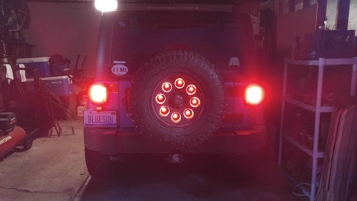 Rear Brake Light Relocation Jeep Wrangler Forum