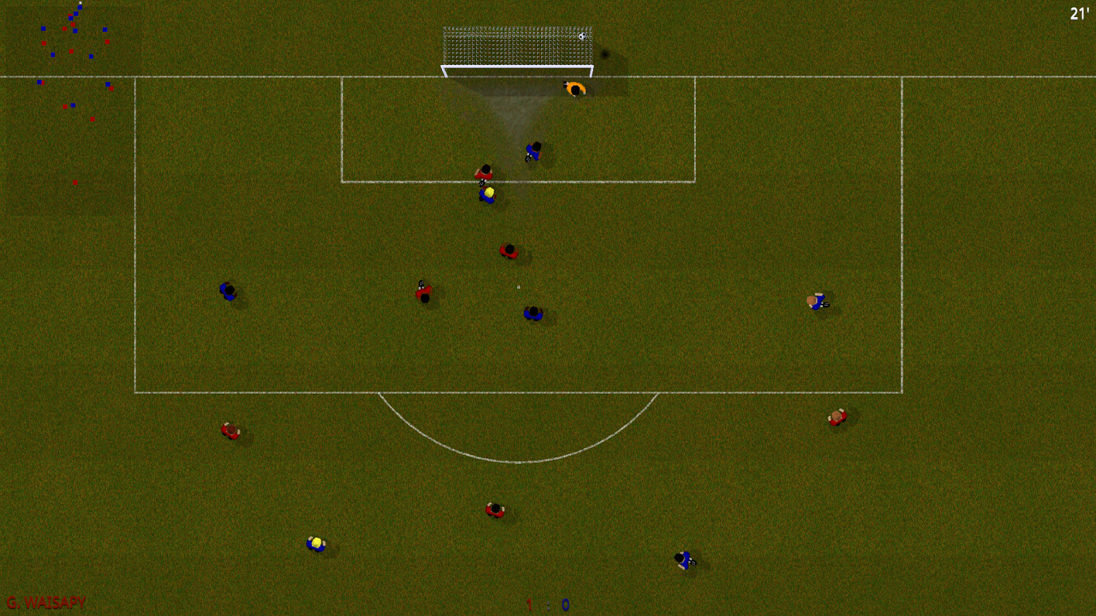 Natural Soccer ⚽ Fun Arcade Football Game- screenshot