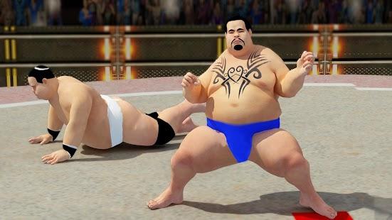 Sumo wrestling Revolution 2017: Pro Stars Fighting Screenshot