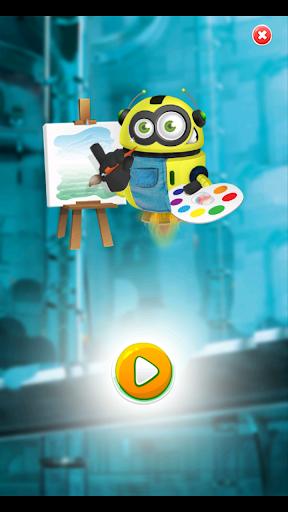 Coloring Mini Robot