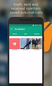 Spletter - send mail & photos screenshot 5