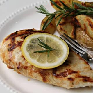 Lemon Rosemary Grilled Chicken.