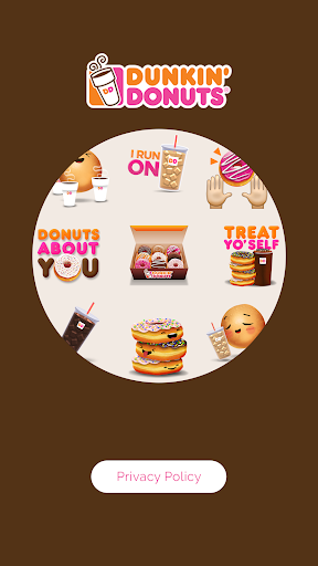 Dunkin\\\' Donuts Emojis app (apk) free download for Android