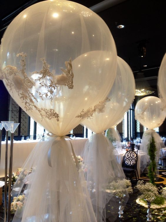 Here comes the bride balloons for weddings styles and for Balloon decoration ideas for weddings