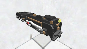 D51形蒸気機関車(ゼロコストver)