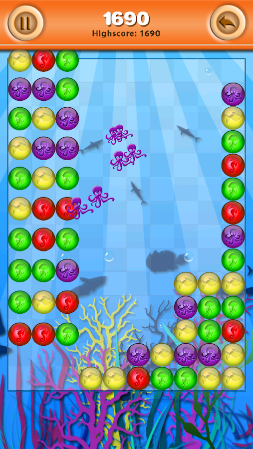 Bubble Breaker Undersea- screenshot