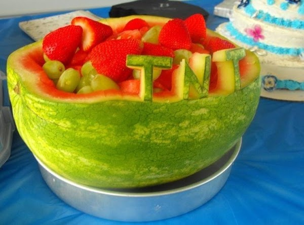 Watermelon Fruit Basket Recipe