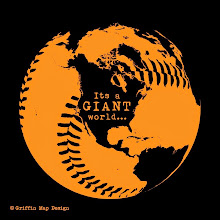 Photo: It's a Giant World. Made this design after they won the World series in 2010! Available as prints and shirts...