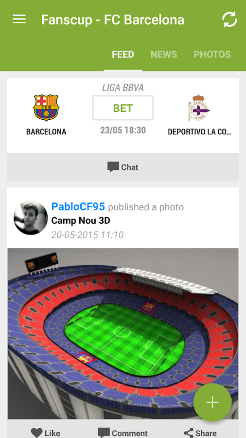 Fanscup: Football by the Fans- screenshot