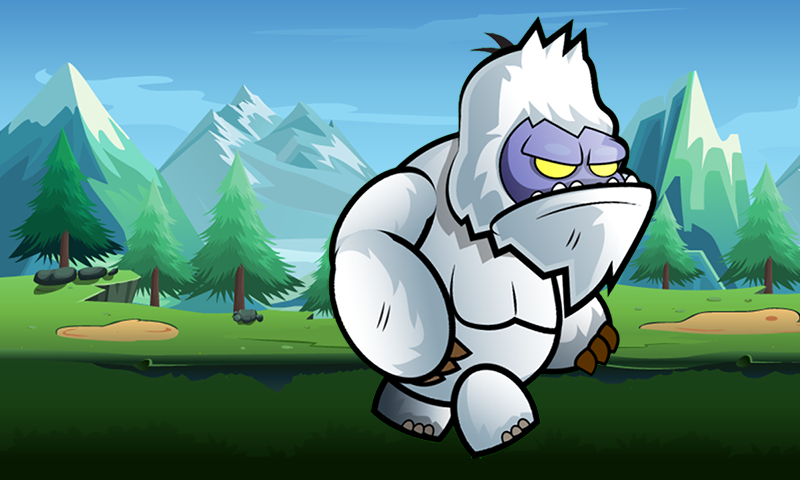Yeti World Adventure Runner- screenshot