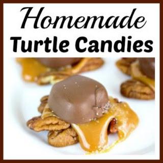 Harvest Homemade Turtle Candies.