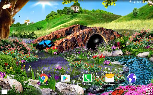 3D Butterfly Live Wallpaper 1.0.5 screenshots 7
