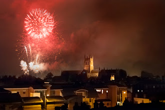 Photo: August 27th Fireworks (Clive Haynes)