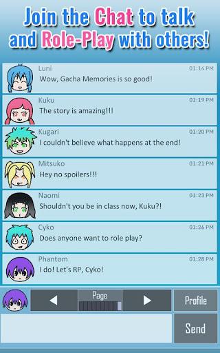 Gacha Memories - Anime Visual Novel 1.0.1 screenshots 16