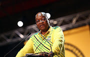ANC President Jacob Zuma addresses delegates at the 54th ANC National Conference taking place in Nesrac. Image: MASI LOSI