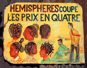 Photo: Hémisphères, 1985, carte postale (illustration Philippe Morillon)