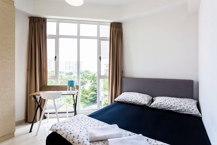 Bedroom at Duplex Penthouse, Seraya Lane