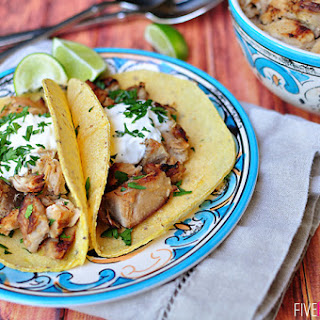 Slow Cooker Carnitas Tacos ~ Mexican Pulled Pork Recipe
