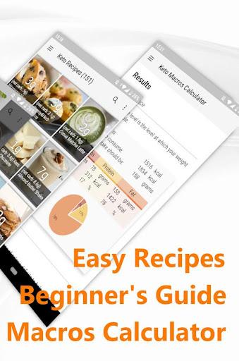 Keto Diet: Low Carb Keto Recipes & Keto Calculator 6.5 screenshots 2
