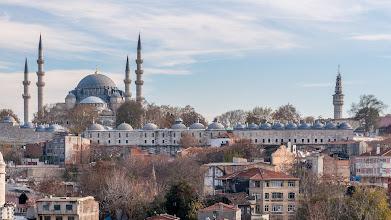 Photo: Blick zurSüleymaniye-Moschee