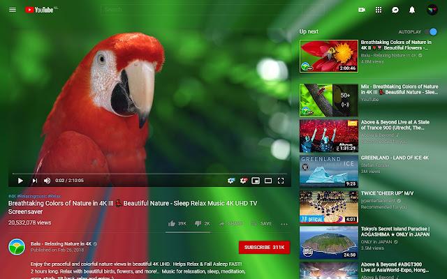 YouTube Ambilight